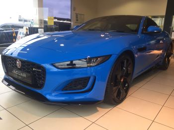 Jaguar F-TYPE 5.0 P450 Supercharged V8 R-Dynamic LIMITED REIMS EDITION Automatic 2 door Coupe image
